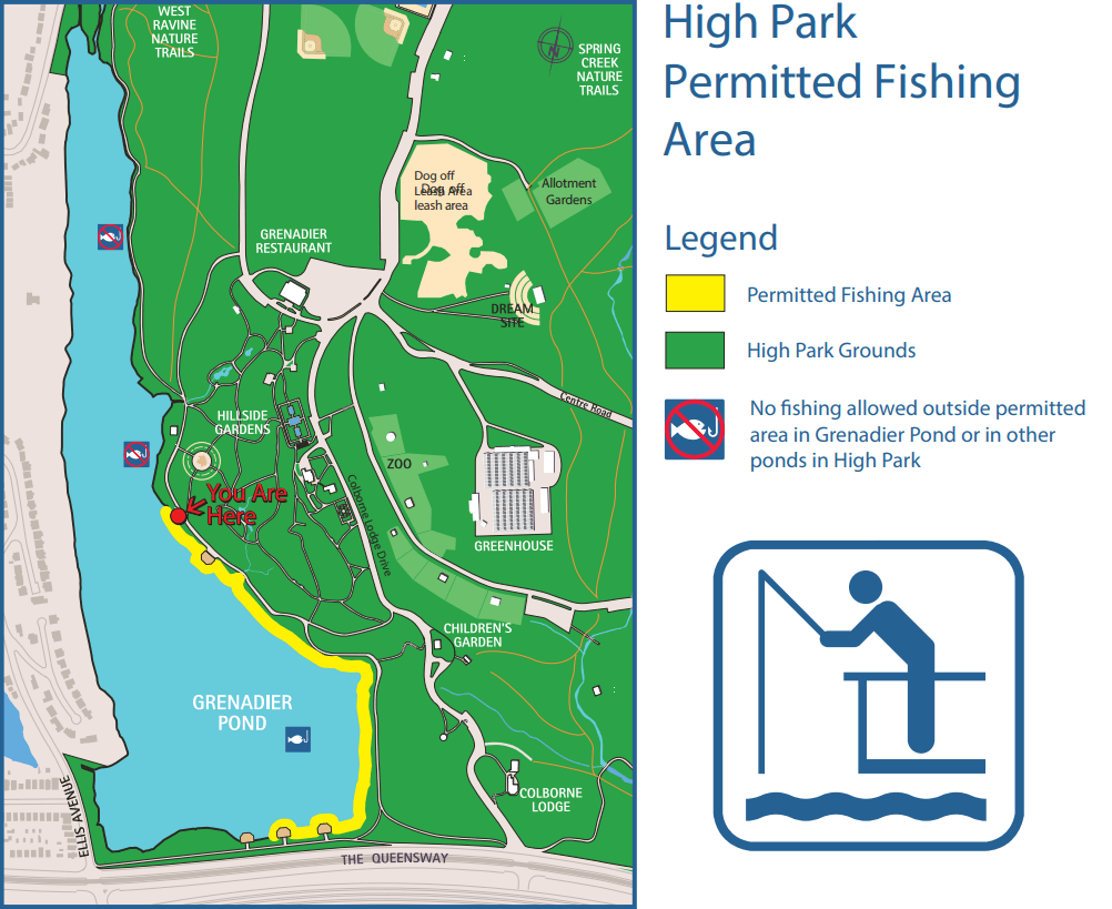 High Park Permitted Fishing Area
