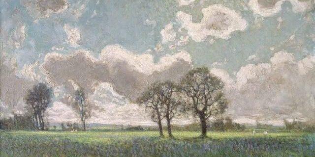 Spring Breezes, High Park. J.E.H. MacDonald 1912